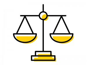 icon scales of justice